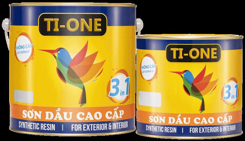sơn dầu tione