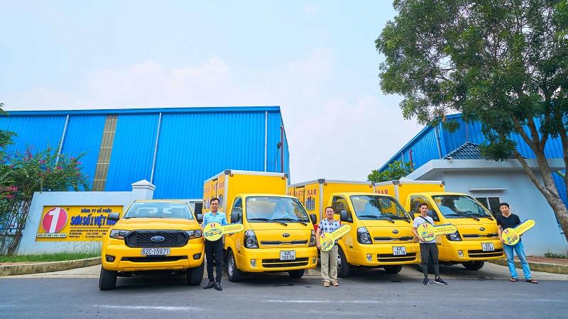 chương trình tặng xe cho NPP